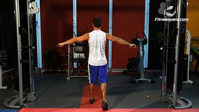 Cable Rear Lateral Raise