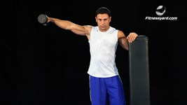 One Arm Dumbbell lateral Raise