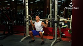 Smith Machine Squat - Wide stance