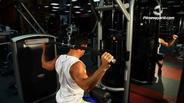 Behind The Neck Lat Pulldown