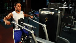 Leverage Pronated-Grip Seated Row
