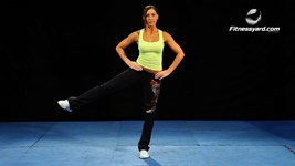 Standing Lateral Leg Raise - Hip Abduction
