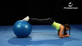 Exercise Ball Plank