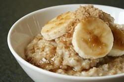 Honey and Cinnamon Oatmeal