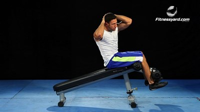 Alternate Decline Bench Sit-Up