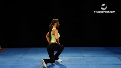 Bodyweight Twisted Lunges