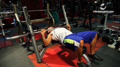Barbell Bench Press - Wide Grip