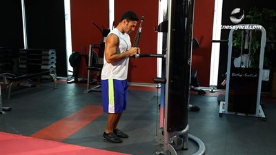 Triceps Pushdown - Rope Attachment