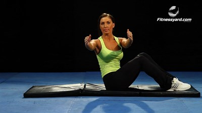 Twist Floor Sit-Up