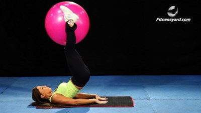 Bottoms Up Using Stability Ball