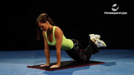 Triceps Knee Push Up